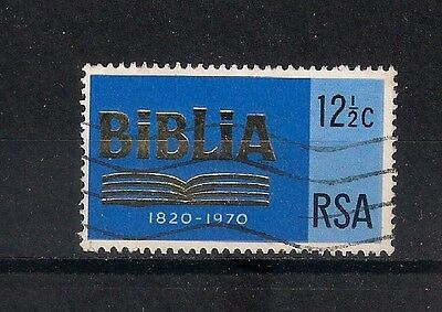 SOUTH AFRICA 1970 150th anniv. of the South African Bible Soc. USED - 7/46