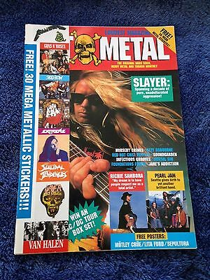 HOT METAL - Issue 33 - Australian Heavy Metal Magazine November 1991