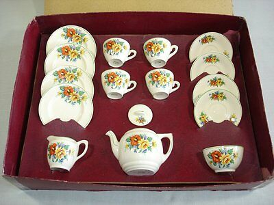 Childs Pottery Tea Set 1950s