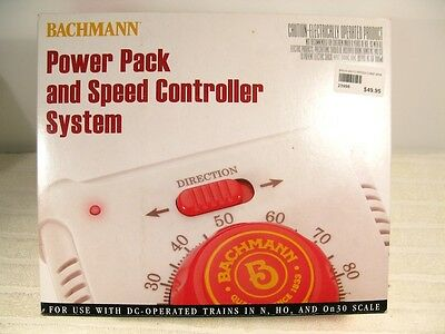 Bachman Power Pack and Speed Controller System 44212