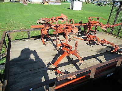 Allis Chalmers C Front and Rear Cultivators with Rockshaft