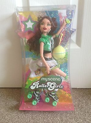 Barbie My Scene Roller Girls Chelsea RARE BRAND NEW IN BOX