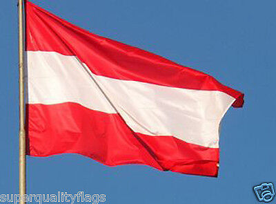 NEW 3x5 ft AUSTRIA  AUSTRIAN FLAG WITH BRASS GROMMETS