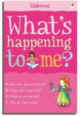 Whats Happening To Me Girls Usbourne Facts Of Life NEW Paperback Book 0746069950