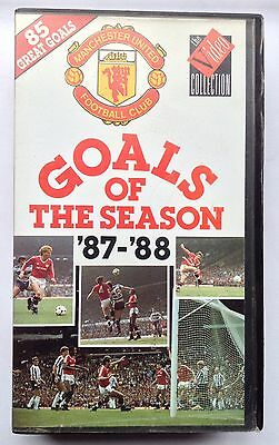 Man Utd 1987-1988 Goals Of The Season Video Manchester United VHS Tape