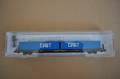 MICRO TRAINS N Scale Gauge Train WAGON CONTAINER CAST 972000-972965
