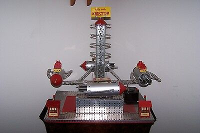 A.C Gilbert Erector Set Rocket Ship, Store Display Working Condition