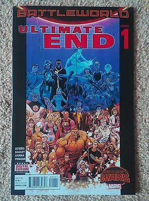 Secret Wars: ULTIMATE END - complete set of 5 issues - Bendis, Bagley