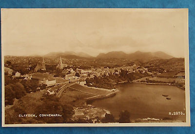 RP Postcard POSTED 1955 CLIFDEN CONNEMARA Co.GALWAY IRELAND