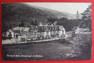 Postcard POSTED 1932 ROYAL HOTEL GLENDALOUGH Co.WICKOW IRELAND