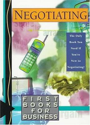 Negotiating (First Books for Business) By Affinity Communications