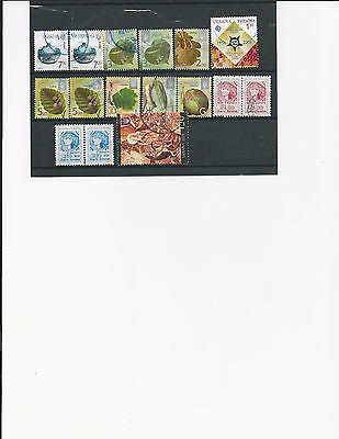 Ukraine, Selection of 16 modern stamps, used