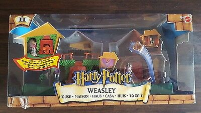 Harry Potter Weasley House Playset Mattel New