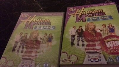 New/ sealed Hannah montana dvd game sing, dance ,act, play miley cyrus free p&p