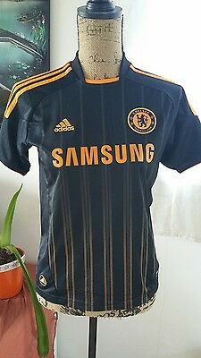 Maillot FOOT ADIDAS CHELSEA FC SAMSUNG TAILLE/S/ 10 12 ans