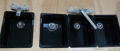 CONCESSION STAND SINKS/ TRAILER SINKS / SINKS FOR (3) COMPARTMENT+Hand Sink