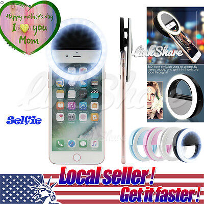 MOM Day Selfie LED Phone Camera Photography Ring Light For iPhone Android Phones