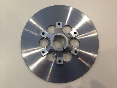 Go Kart Alloy Carrier & Steel Brake Disc 8mm thick x 200mm dia x 76mm