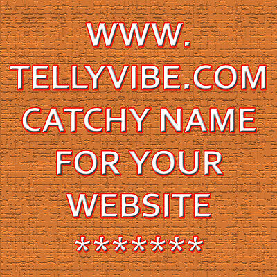 Tellyvibe.com Catchy Domain Name for your website