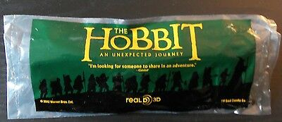 Limited Edition! Real 3D Green Glasses imprinted The Hobbit Official Movie Promo