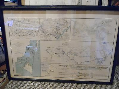 Civil War map Plate LXXVI of the official Atlas Ga. Va Alabama Mississippi