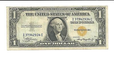 1935 A $1 USA Silver Certificate Yellow Seal North Africa