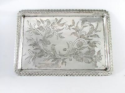 PERSIAN STERLING SILVER 84 TRAY 19.93 ToZ