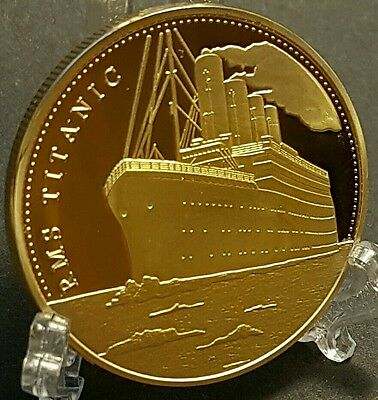 The Voyage Of The Titanic Commemorative Coin