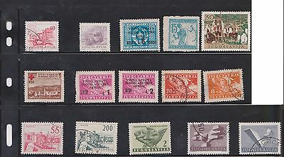 (U27-4) 1950-80 Yugoslavia mix of 56 stamps value to 2d (D)