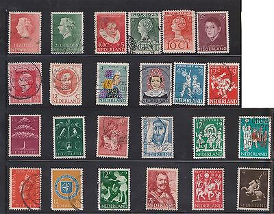 (U27-10) 1950-2001 Netherlands mix of 56 stamps value to 60c (B)