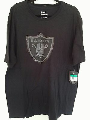 Nike Oakland Raiders NFL t-shirt in size XL