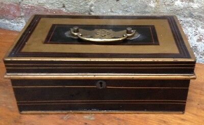 Antique Metal Cashbox