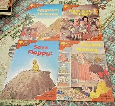 Oxford Reading Tree ORT Stage 8 Books x 4