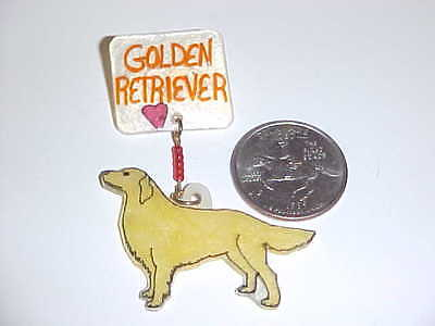 GOLDEN RETRIEVER PIN - Handmade Unique Jewelry - New - DOG - DOGS