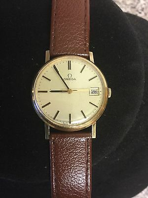 1977 9 Ct Gold Omega Men's 1030 Cal Watch