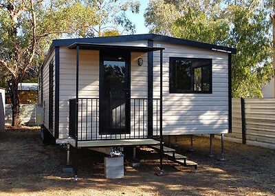 Granny Flat Relocatable Mobile Home Portable Cabin Container Homes Caravan