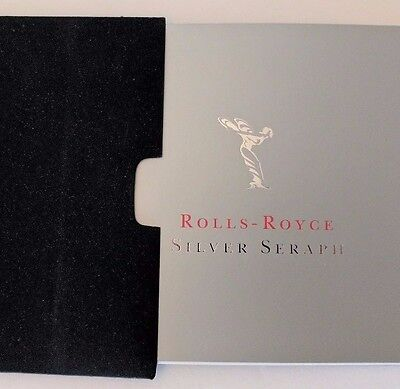 ROLLS-ROYCE Silver Seraph Original Official Sales Brochure