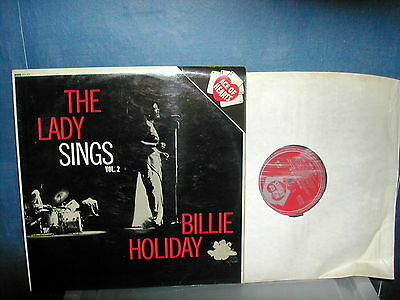 Billie Holiday-The lady sings vol2  LP 1963