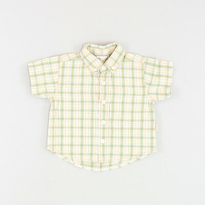 Camisa color Verde marca Pick Ouic 6 Meses