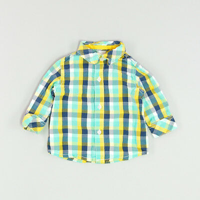 Camisa color Verde marca C&A 6 Meses
