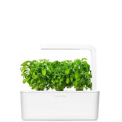 Click and Grow Indoor Smart Herb Garden Kit With Experimental Refill Kit