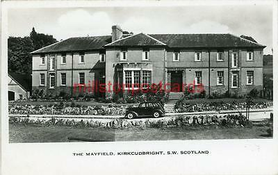 Real Photographic Postcard Of The Mayfield, Kirkcudbright, Kirkcudbrightshire
