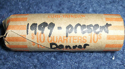 Variety Roll Of Quarters 1999-Present Denver Minted 1 Roll **no Junk Drawer**
