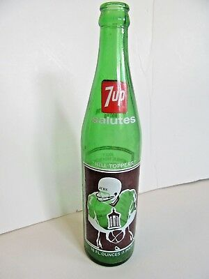 7-UP Soda Championship BOTTLE - Hill Toppers - Joliet Catholic High School