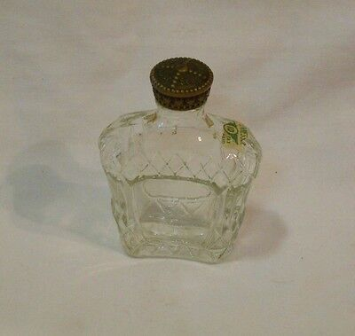 """Vintage Seagram's Bottle      Empty      3.5 """" Tall      TN Stamp      Canada"""