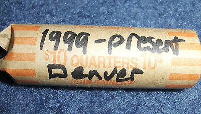 Roll Of Quarters 1999 - Present Denver Minted States-Territory**no Junk Drawer**