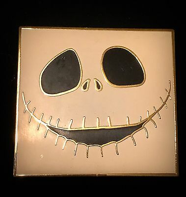 LE 250 Jack Skellington Face Nightmare Before Christmas Disney Auctions NBC Pin