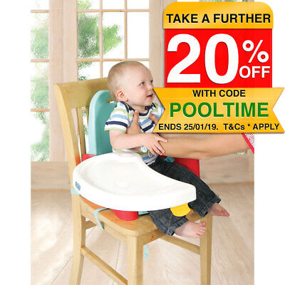 First Years Swing Booster Tray Seat for Infant/Baby/Toddler Feeding Foldable