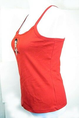 Betty Boop Tank Top -M- Red