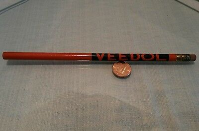 Vintage Veedol Oil Advertising Pencil Motor Oil and Greases